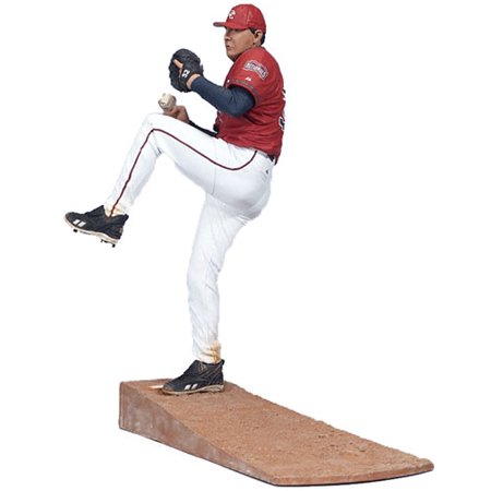 McFarlane MLB Sports Picks Series 15 Chad Cordero Action Figure [Red Jersey]