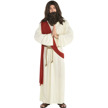 Amscan Jesus Halloween Robe for Men, One Size