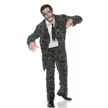 Undead Mens Adult Zombie Groom Prom Halloween Suit Costume -Xxl (Prom Suit)