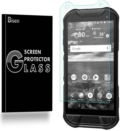 Fit For Kyocera DuraForce Pro 2 (2nd Gen) [3-Pack BISEN] Screen Protector  Tempered Glass, 9H Hardness, Anti-Scratch, Anti-Shock, Bubble Free,
