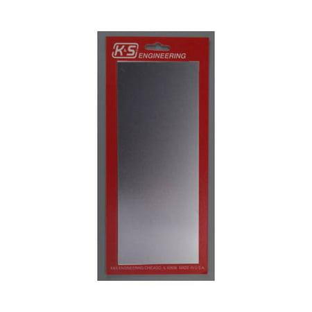 5255 Aluminum Sheet 4x10x.016\