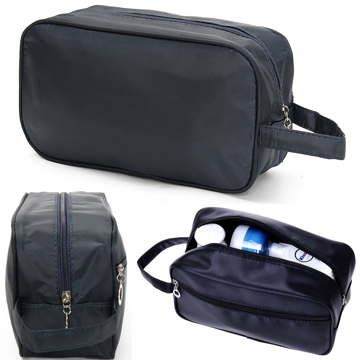 c65b3523ea5a Mens Shaving Kit Travel Bag,Mens Travel Organizer Toiletry Bag Cases, Carry  Tote Waterproof Wash Shower Makeup Organizer Portable Case For Cosmetics,  ...