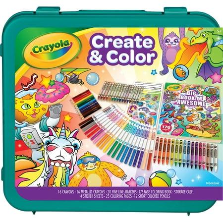 Crayola Epic Create & Color Art Case 75 Pieces Now $10 (Was $19.97)