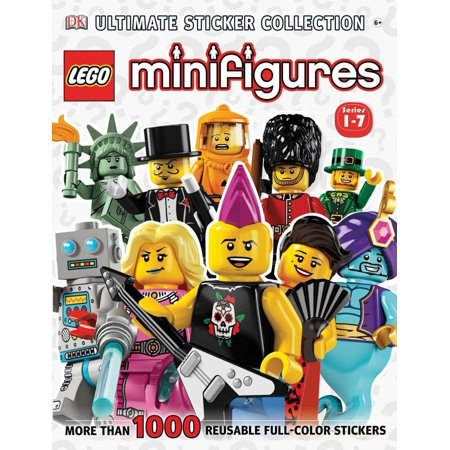 Ultimate Sticker Collection: LEGO® Minifigures (Series 1-7) : More Than 1,000 Reusable Full-Color Stickers