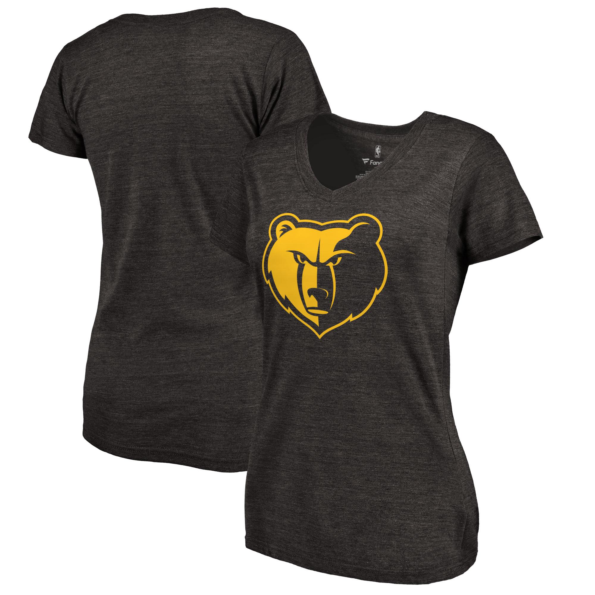 Memphis Grizzlies Women's Taylor Tri-Blend T-Shirt - Black
