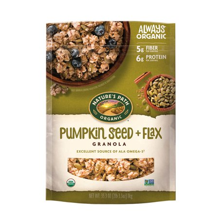 Natures Path Organic Pumpkin Seed and Flax Granola 35.3 oz Natures Path Organic Granola