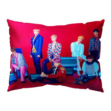 TURNTABLE LAB BTS Pillowcase | Kpop Bangtan Boys [Love Yourself 結 Answer] 50x30CM Pillowcase with One Sided Pattern | Best Gift for The
