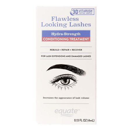 Equate Beauty Flawless Looking Lashes Hydra-Strength Conditioning Treatment, 0.13 Fl. Oz.