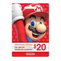 $20 Nintendo eShop Mario, Nintendo, 799366445845
