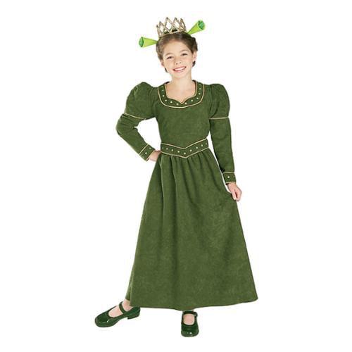 WMU 568174 Large Fiona Princess Child Costume