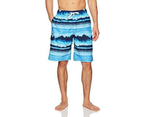 Papaya wear Uniarmoire Halter Top Tankini Tribal Printed Swimsuit with Boardshort