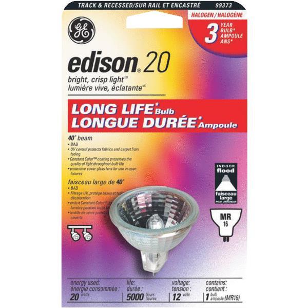 G E LIGHTING 20-Watt Halogen Quartz Floodlight Bulb