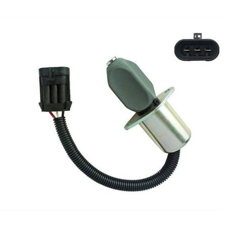 bobcat 6681513 excavator fuel shut off solenoid switch 325 328 331 334 337  341 - walmart com