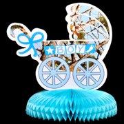 """Light Blue """"It's a Boy"""" Centerpiece (Each) - Party Supplies"""