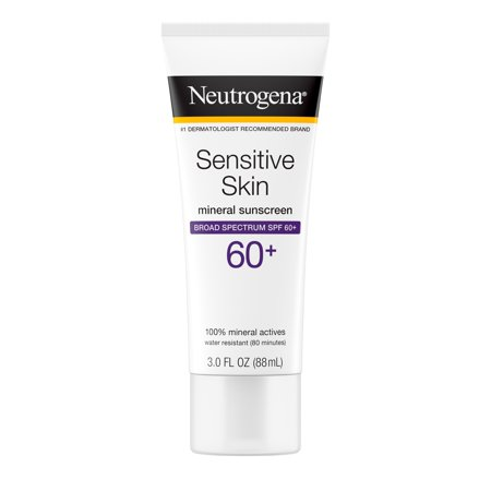 Neutrogena Sunblock Lotion, Sensitive Skin, SPF 60 3 fl oz (88
