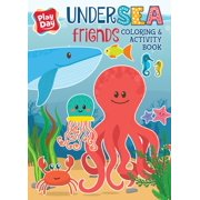 Bendon Publishing Play Day Sea Friends Jumbo Coloring Book