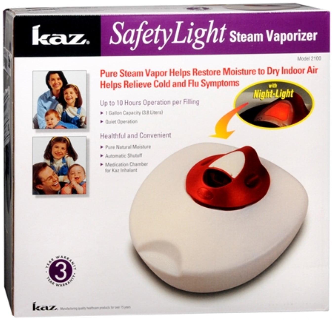 Kaz SafetyLight Steam Vaporizer 1 Each by Kaz