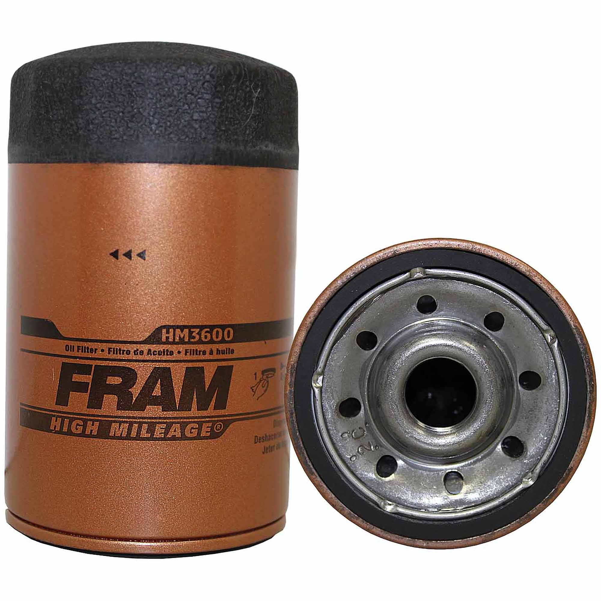 FRAM High Mileage Oil Filter, HM3600