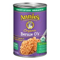 (6 pack) Annie's Organic Pasta Bernie O?s Pasta in Tomato & Cheese Sauce 15 oz