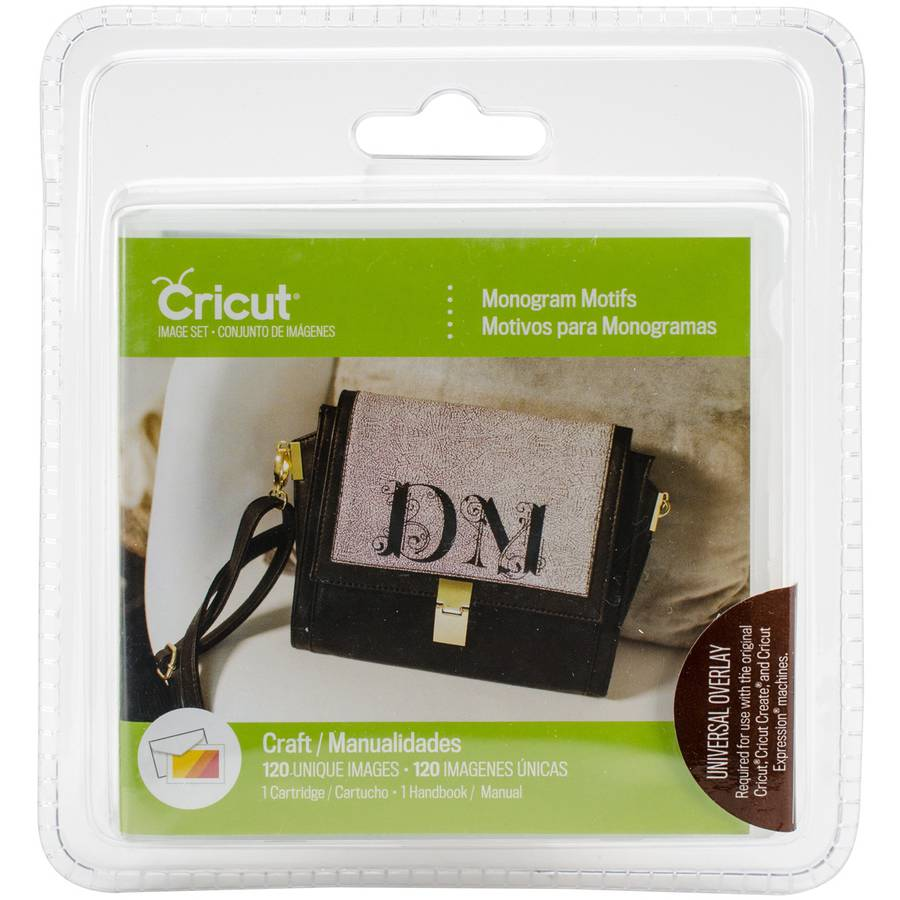 Cricut Shape Cartridge, Monogram Motifs