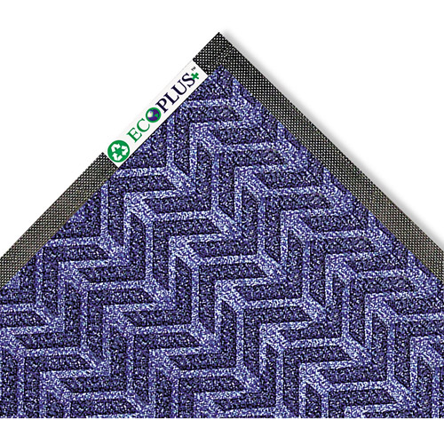 Crown EcoPlus 3' x 5' Mat, Midnight Blue