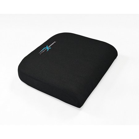 Large Seat Cushion With Carry Handle And Anti Slip Bottom Gives Relief From Back Pain By Xtreme Comforts