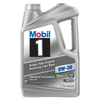Mobil 1 5-Quart Full Synthetic Motor Oil (various)