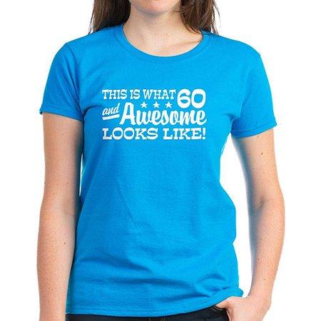 35b1a566 CafePress - Funny 60th Birthday Women's Dark T-Shirt - Walmart.com