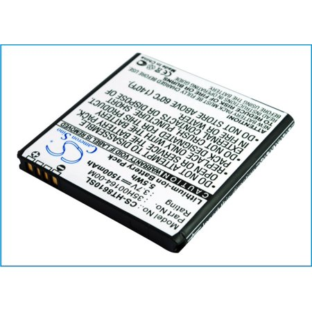 Cameron Sino 1500mAh/5.55Wh Battery Compatible With HTC