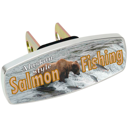 HitchMate Premier Series HitchCap, Salmon Fishing Alaskan Style