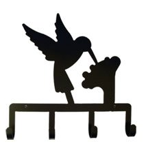 Village Wrought Iron KH-18 Hummingbird Key Holder