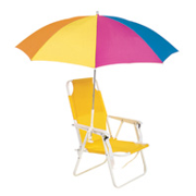 Strand 6' Clip-On Beach Umbrella, 4455