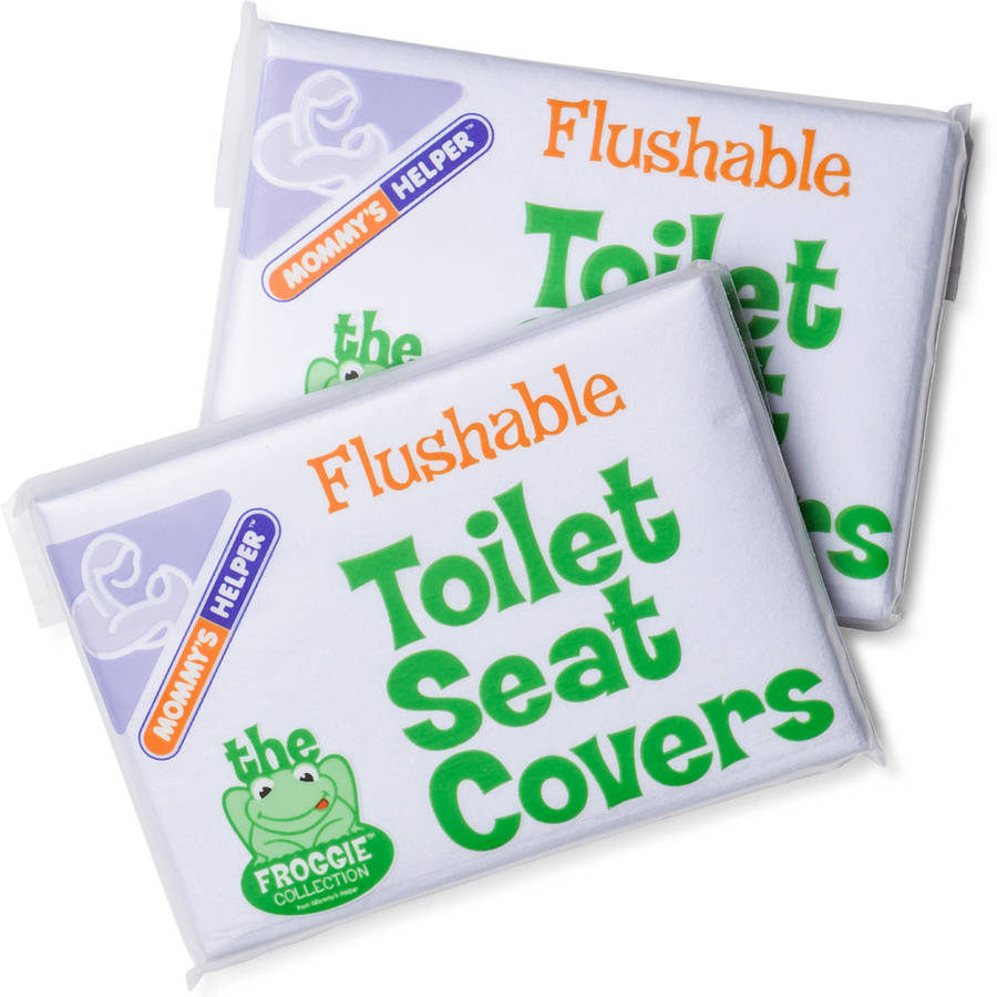 Mommy S Helper Froggie Flushable Toilet Seat Covers White