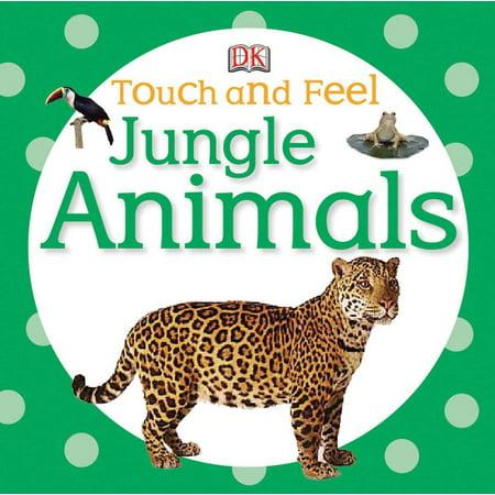 Jungle Animals (Board Book) - Jungle Animal Cut Outs