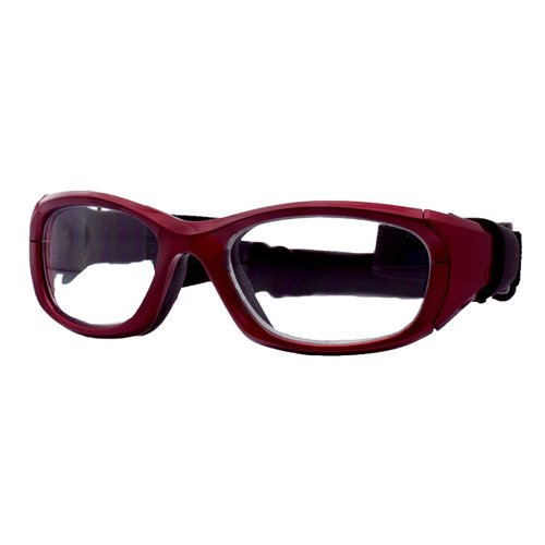 clear sports glasses  Sport Specs Protective Sports Eyewear Goggle, MX-31 Crimson Clear ...