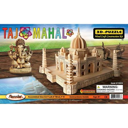 Taj Mahal 3 D Wooden Puzzle Famous Sites Collection Affordable