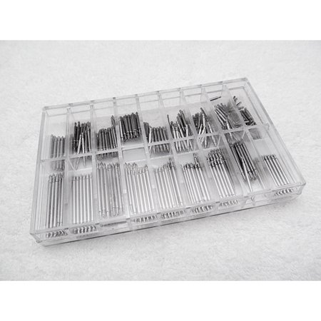 72/108/144/180/216/270/288/360Pcs Watch Spring Bar Link Pins Tool Watch Spring Bars Remover Tool Kit Set - image 5 of 7