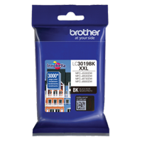 Brother Genuine Super High Yield Black Ink Cartridge, LC3019BK, Replacement Black Ink, Page Yield Up To 3,000 Pages