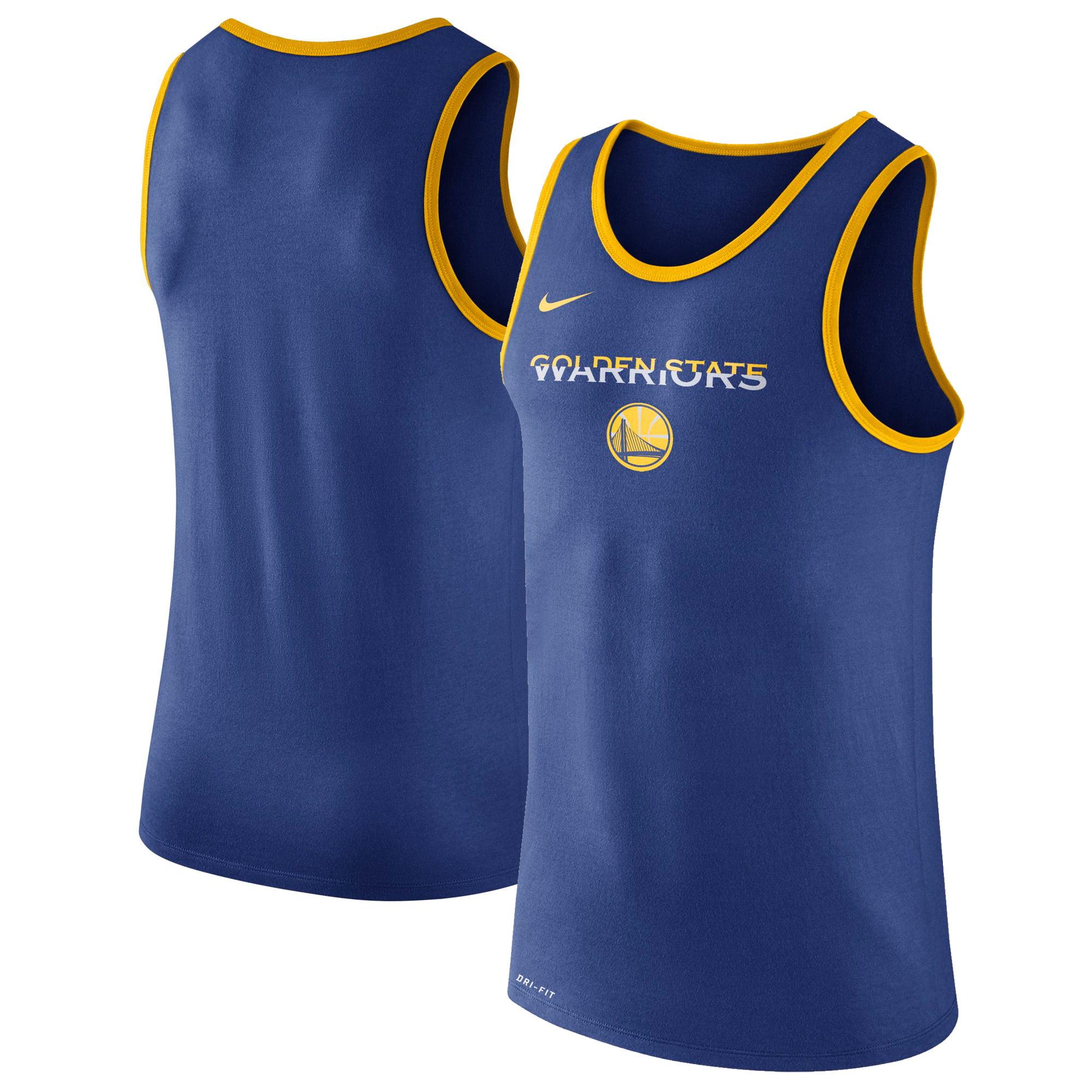 Golden State Warriors Nike Logo Performance Tank Top - Royal