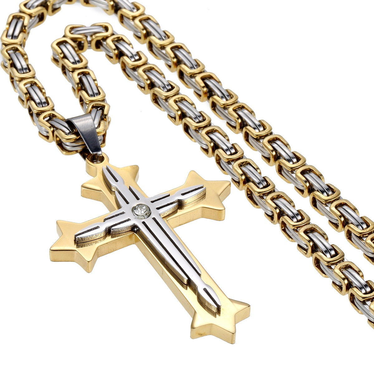 Saris and Things Stainless Steel Mens Womens Unisex 7mm 9,8 16-28 Inches Cuban Fashion Link Chain Necklace