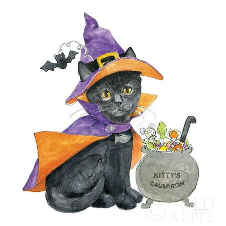 Halloween Pets I Poster Print by Beth Grove - Halloween Grove Gardens