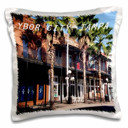 3dRose Ybor City Tampa Florida - Pillow Case, 16 by 16-inch - Party City Hours Tampa