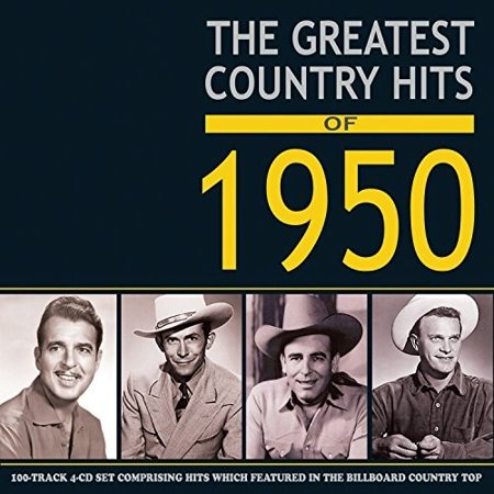 Greatest Country Hits Of 1950 / Various](Halloween Music 1950)