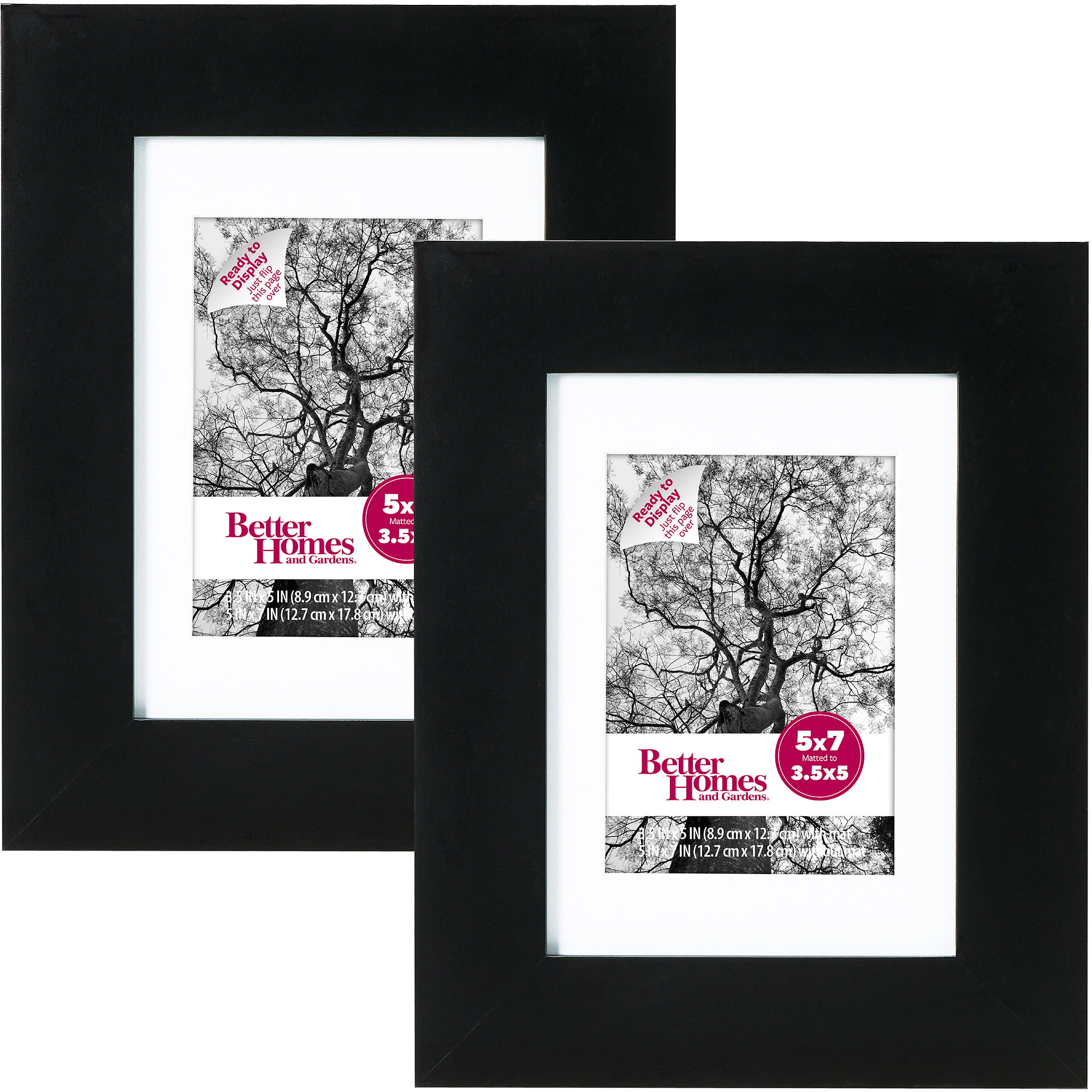 mainstays 5x7 format picture frame set of 12 walmartcom
