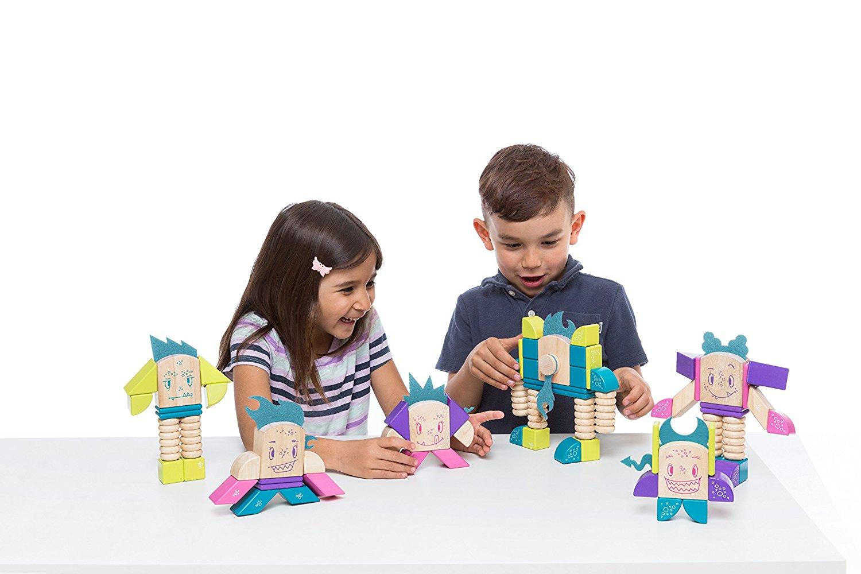 Tegu Finklebear Magnetic Wooden Block Set