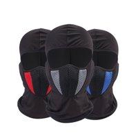 1 Piece Windproof Ski Mask Winter Motorcycle Neck Warmer Tactical Balaclava Hood Polyester Women Men Youth Snowboard Hat Outdoors Helmet Liner Mask Skiing Cap Headwear