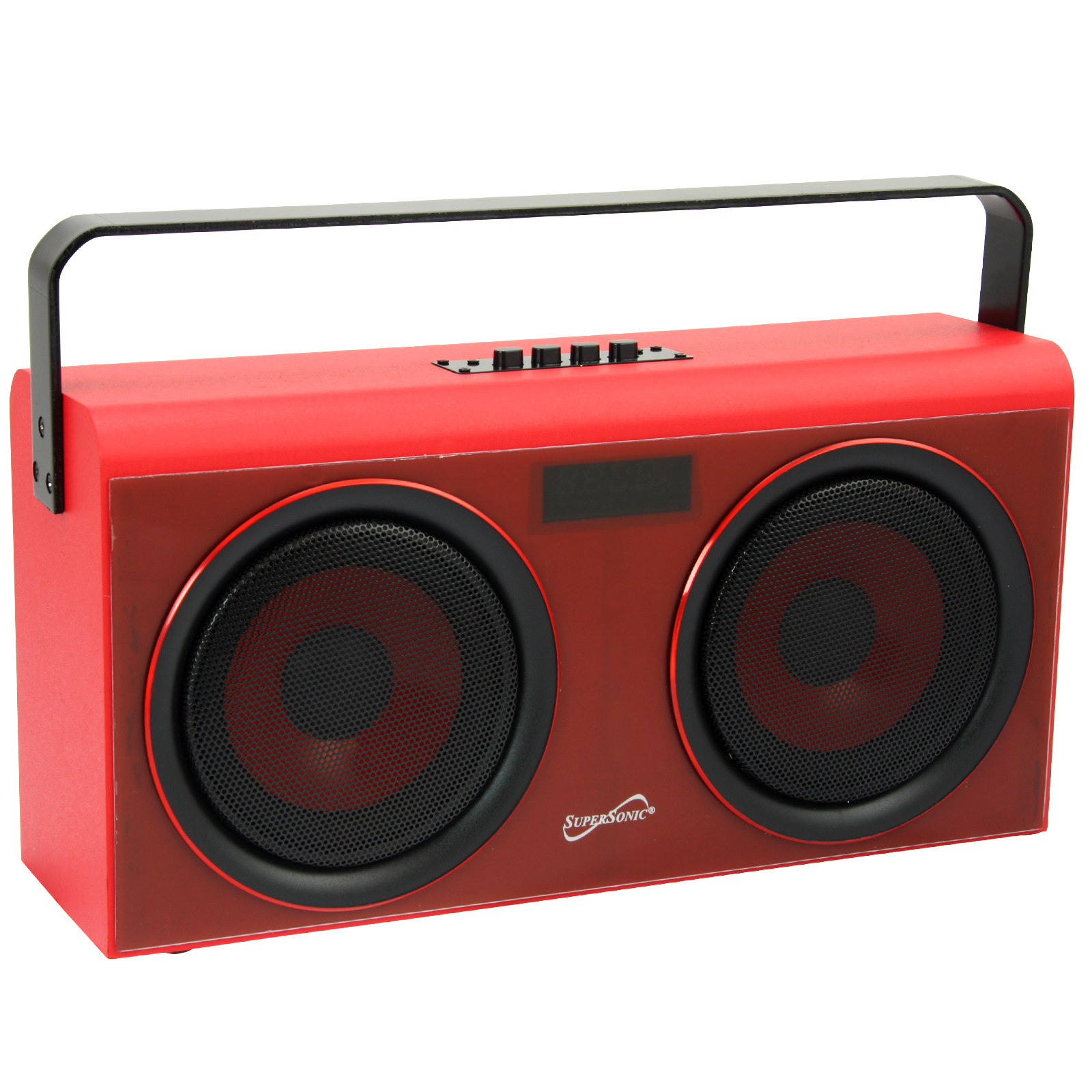 Supersonic Party BT Portable Speaker in Red