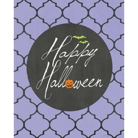 Happy Halloween Poster Print by Jo Moulton (24 x - Halloween 30 Years Of Terror Poster
