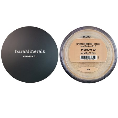 Bareminerals Original Loose Powder Mineral Foundation SPF 15, Medium, 0.28 Oz