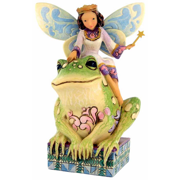 Jim Shore Fairy Collection Fairy Princess and Frog 4014980